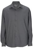 Men's No-iron Stay Collar Dress Shirt Charcoal Thumbnail
