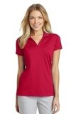 Women's Port Authority Rapid Dry Mesh Polo Engine Red Thumbnail