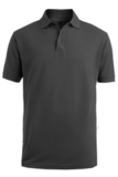 Men's Short Sleeve Soft Touch Blended Pique Polo Steel Grey Thumbnail