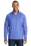 Tall Sport-wick Stretch 1/2-zip Pullover True Royal Heather Thumbnail