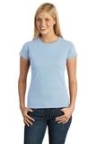 Women's Softstyle Ring Spun Cotton T-shirt Light Blue Thumbnail