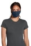 V.I.T. Shaped Face Mask 5 pack (100 packs 1 Case) Heather Navy Thumbnail