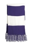 Spectator Scarf Purple with White Thumbnail