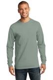 Essential Long Sleeve T-shirt Stonewashed Green Thumbnail