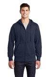 Full-zip Hooded Sweatshirt True Navy Thumbnail