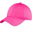 Port Company Six-panel Unstructured Twill Cap Neon Pink Thumbnail