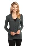 Women's Concept Cardigan Grey Smoke Thumbnail