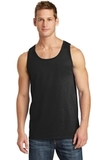 5.4 oz. 100% Cotton Tank Top Jet Black Thumbnail