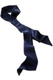 Women's Herringbone Neckerchief Navy Thumbnail