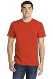 American Apparel Fine Jersey T-Shirt Orange Thumbnail