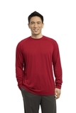 Long Sleeve Ultimate Performance Crew True Red Thumbnail