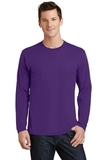 Long Sleeve Fan Favorite Tee Team Purple Thumbnail