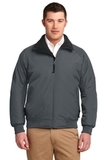 Challenger Jacket Steel Grey with True Black Thumbnail
