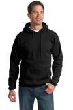 Pullover Hooded Sweatshirt Jet Black Thumbnail