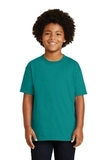 Youth Ultra Cotton 100 Cotton T-shirt Jade Dome Thumbnail