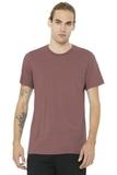 BELLACANVAS Unisex Jersey Short Sleeve Tee Mauve Thumbnail