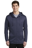 Nike Golf Therma-FIT Full-Zip Fleece Hoodie Midnight Navy Thumbnail
