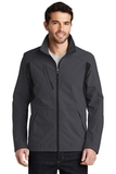 BackBlock Soft Shell Jacket Battleship Grey with Black Thumbnail