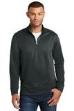 Performance Fleece 1/4Zip Pullover Sweatshirt Jet Black Thumbnail