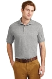 Ultra Blend 5.6-ounce Jersey Knit Sport Shirt Sport Grey Thumbnail