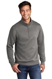 Core Fleece 1/4-Zip Pullover Sweatshirt Graphite Heather Thumbnail