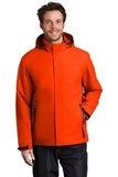 Insulated Waterproof Tech Jacket Fire Orange Thumbnail
