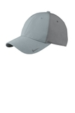 Nike Golf Swoosh Legacy 91 Cap Cool Grey with Dark Grey Thumbnail