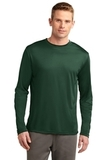 Competitor Long Sleeve Tee Forest Green Thumbnail