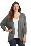Women's Marled Cocoon Sweater Warm Grey Marl Thumbnail