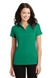 Women's Crossover Raglan Polo Jewel Green Thumbnail