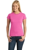 Women's Softstyle Ring Spun Cotton T-shirt Azalea Thumbnail