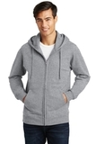 Port & Company Fan Favorite Fleece Full-Zip Hooded Sweatshirt Athletic Heather Thumbnail