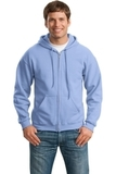 Full-zip Hooded Sweatshirt Carolina Blue Thumbnail