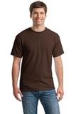 Heavy Cotton 100 Cotton T-shirt Dark Chocolate Thumbnail