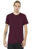 BELLACANVAS Unisex Jersey Short Sleeve Tee Maroon Thumbnail