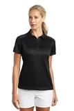 Women's Nike Golf Dri-FIT Pebble Texture Shirt Black Thumbnail