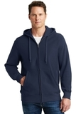 Super Heavyweight Full-zip Hooded Sweatshirt True Navy Thumbnail