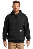 Carhartt Midweight Hooded Sweatshirt Black Thumbnail