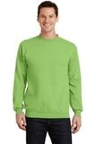 7.8-oz Crewneck Sweatshirt Lime Thumbnail