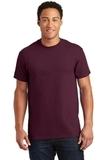 Ultra Cotton 100 Cotton T-shirt Maroon Thumbnail