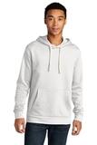 Next Level Unisex Beach Fleece Pullover Hoodie White Thumbnail