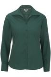 Women's Easy Care Poplin Shirt LS Hunter Thumbnail