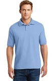 Economy Uniform Polo 5.2 Oz Jersey Knit Light Blue Thumbnail