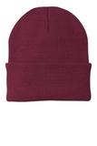 Knit Cap Maroon Thumbnail