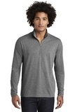 Tri-Blend Wicking 1/4-Zip Pullover Dark Grey Heather Thumbnail