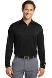 Nike Golf Shirt Long Sleeve Dri-FIT Stretch Tech Polo Black Thumbnail
