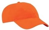 Brushed Twill Low Profile Cap Orange Thumbnail