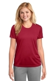 Women's Essential Performance Tee Red Thumbnail