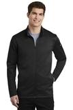 Nike Golf Therma-FIT Full-Zip Fleece Black Thumbnail