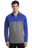 Nike Golf Therma-FIT 1/2-Zip Fleece Game Royal with Dark Grey Heather Thumbnail